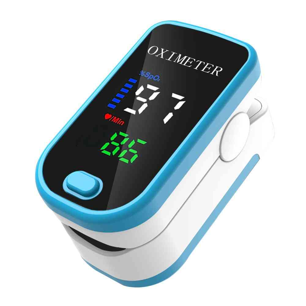 Pulse Oximeter, Finger Clip, Pulse Monitor, Oxygen Saturation, Monitor Heart Rate Meter