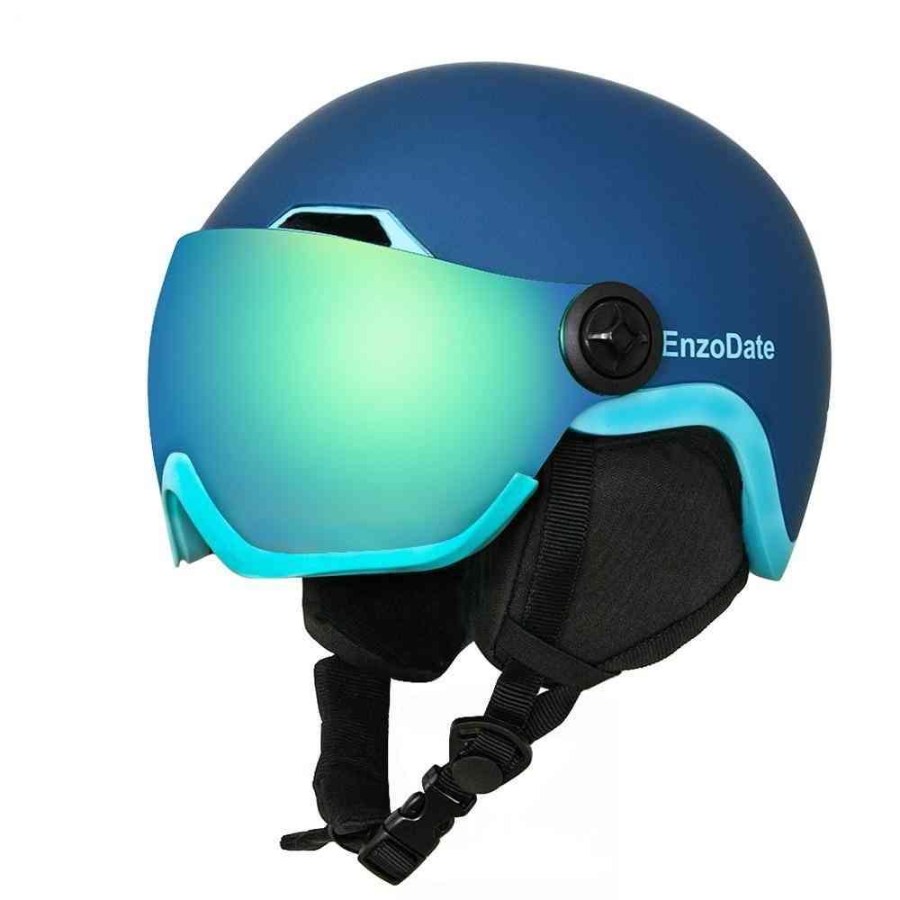 Snowboard Helmet And Detachable Mask