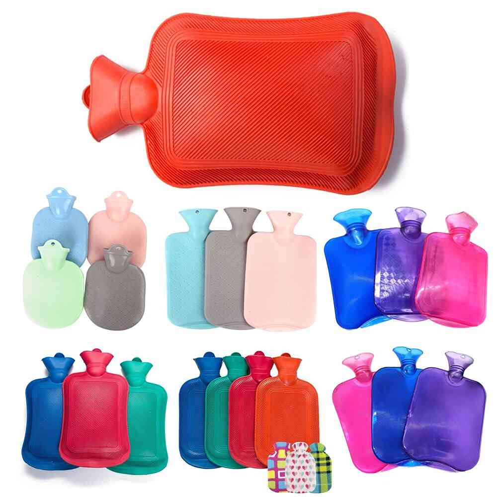 Portable Rubber Thick Hand Warmer Hot Water Bottle