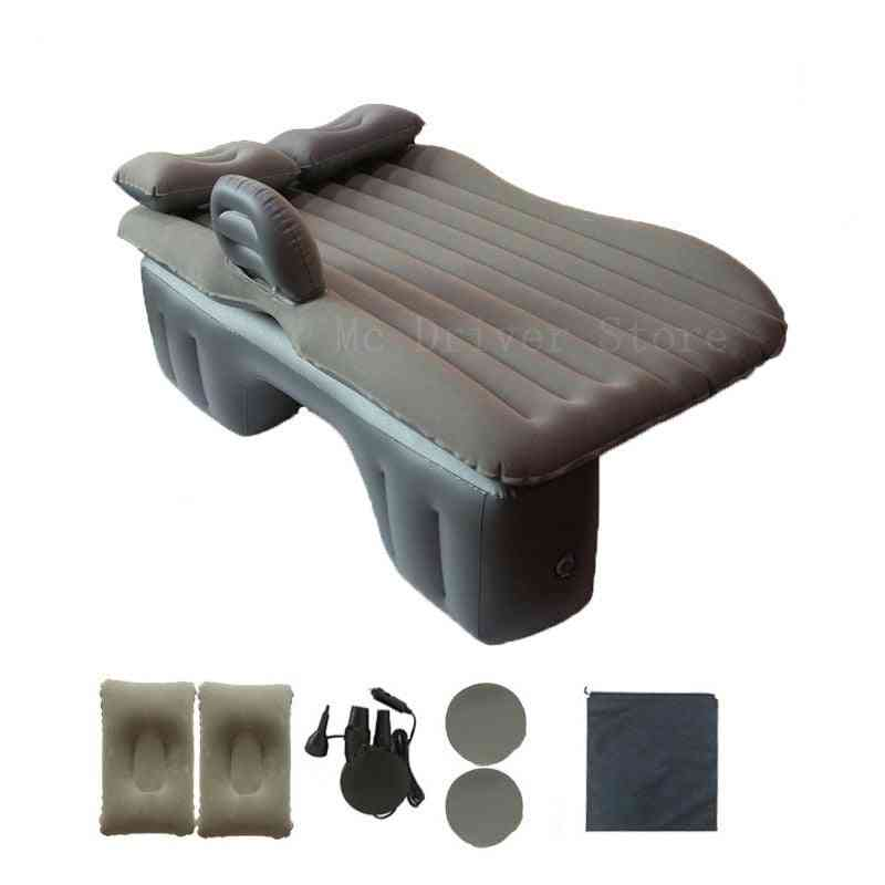 Car Back Seat Cover- Air Mattress Bed, Split Water Floating Raft