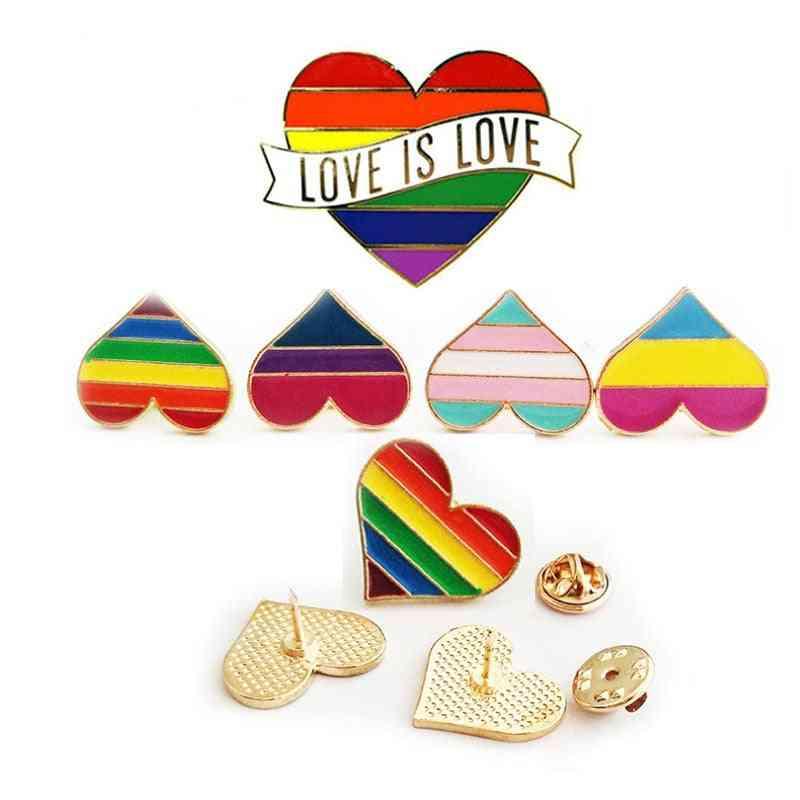 Enamel Pins Pride Lgbt Pin Badge Brooches Jewelry & Women