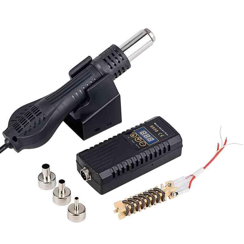 Micro Rework Soldering Station Led Digital Hair Dryer For Soldering