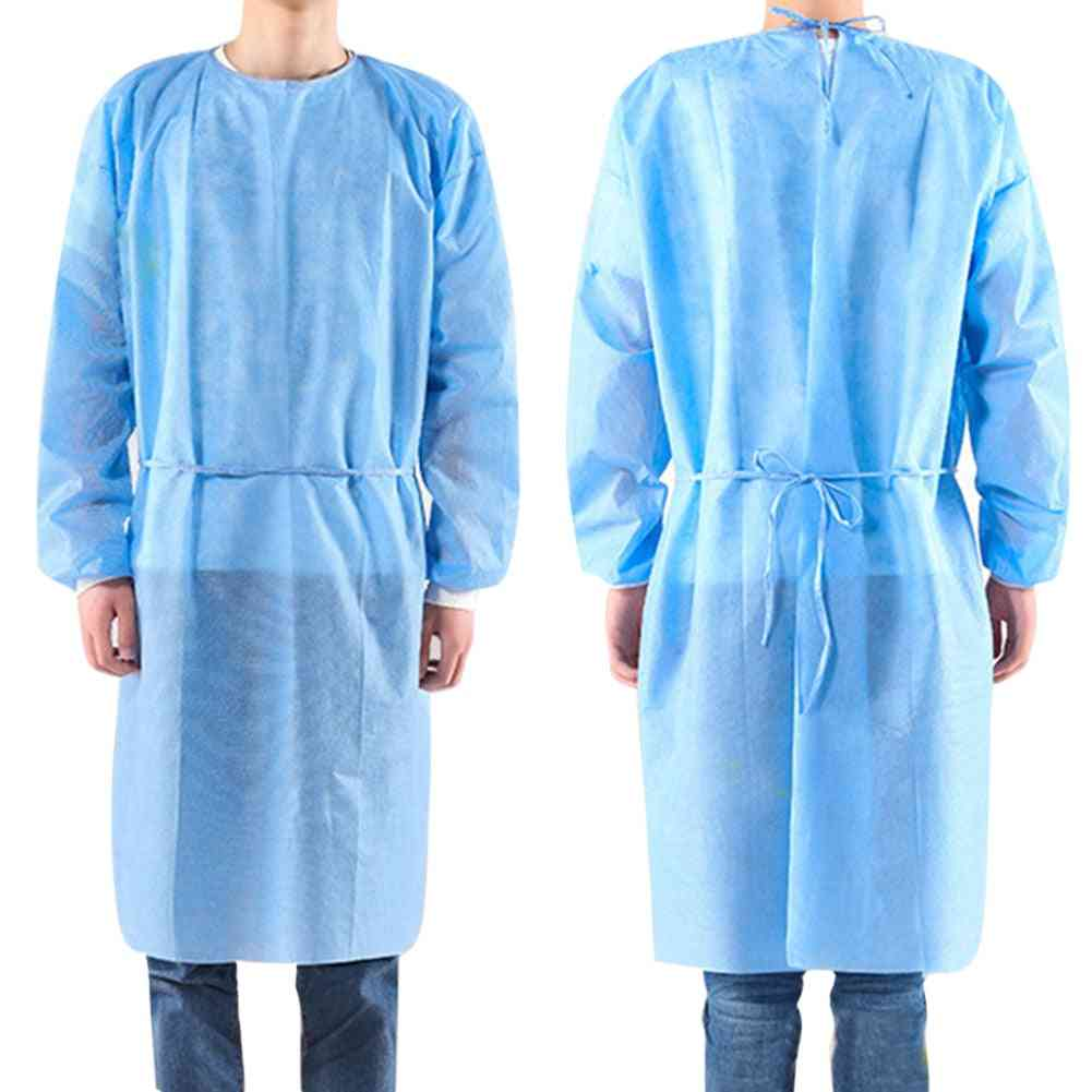 Disposable Bandage Coverall Gown, Isolation Clothes Suit, Nonwoven Protection, Safety Hat Ppe Kit