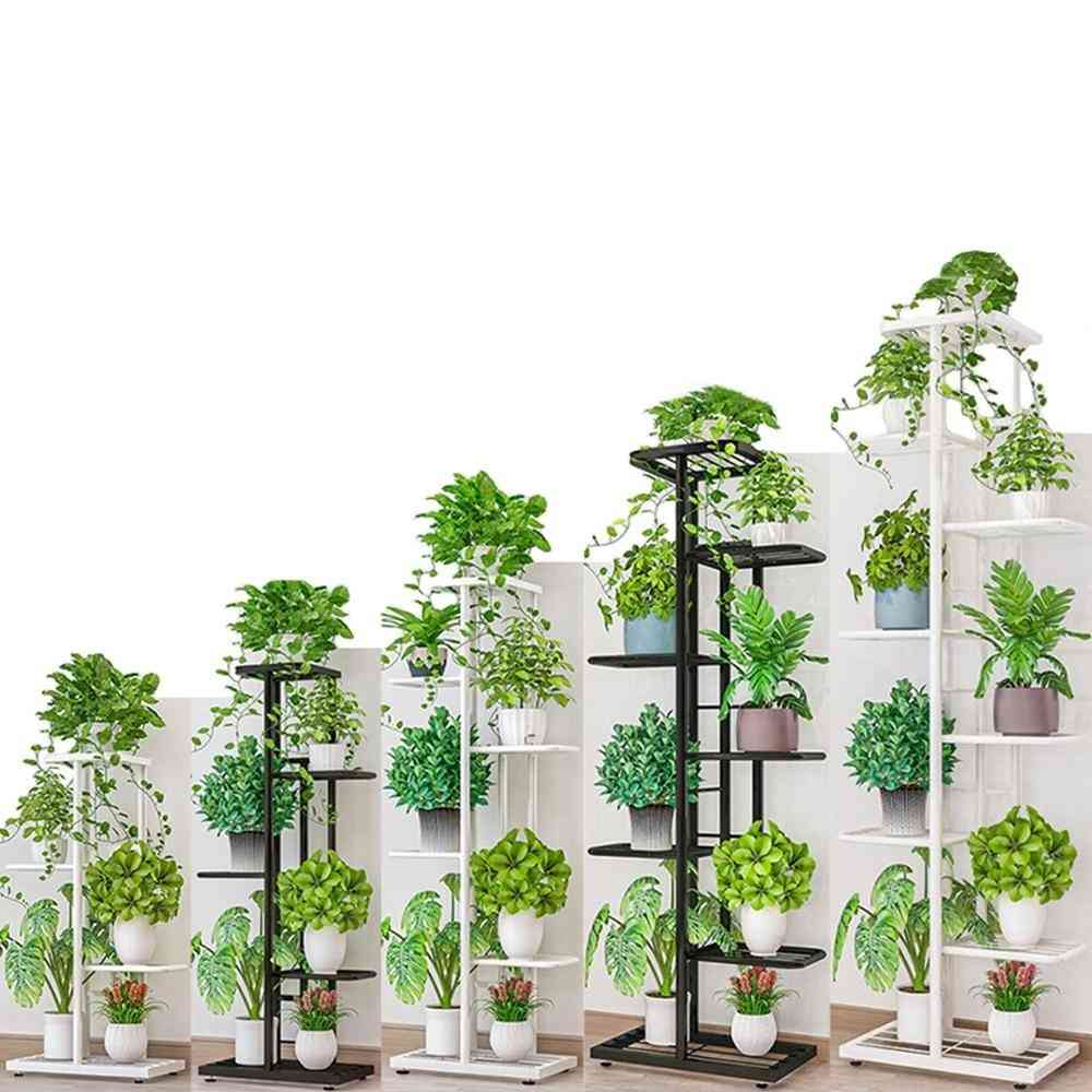 Multi Tier Metal Flower Plant Holder Stand