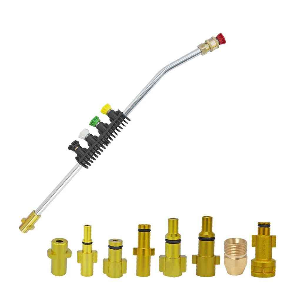 Pressure-washer, Wand- Jet Lance Nozzle Water, Spray Pressure For Car Washer