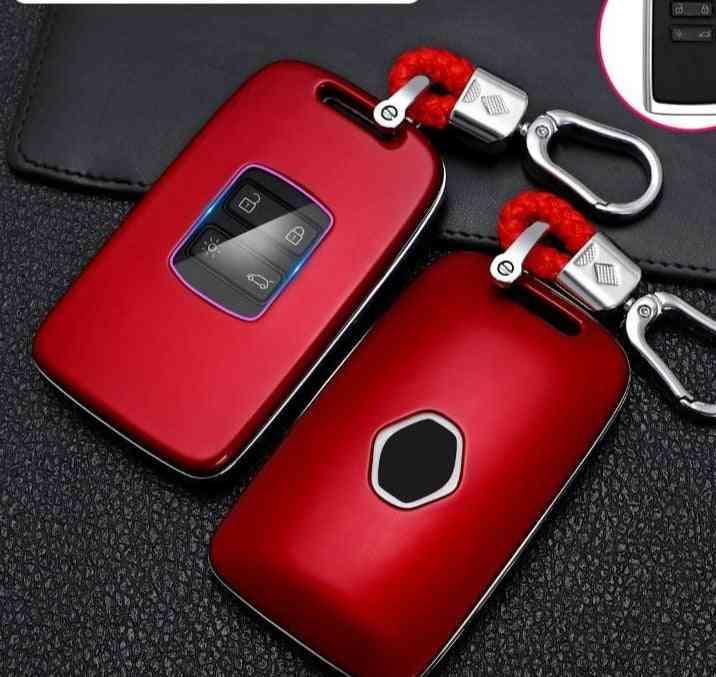 Car Key Case For Renault Scenic Clio Laguna Talisman Carbon Fiber Cover