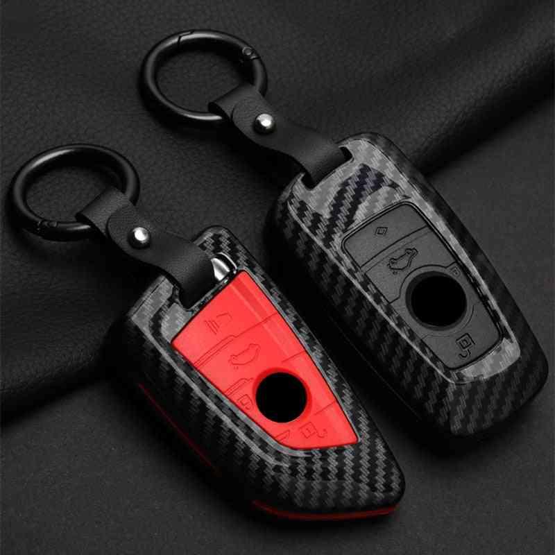 Zinc Alloy Car Key Case Covers For Bmw X1 X3 X5 X6 Series E53 E70 E39 F10 F30 G30 Shell Protector