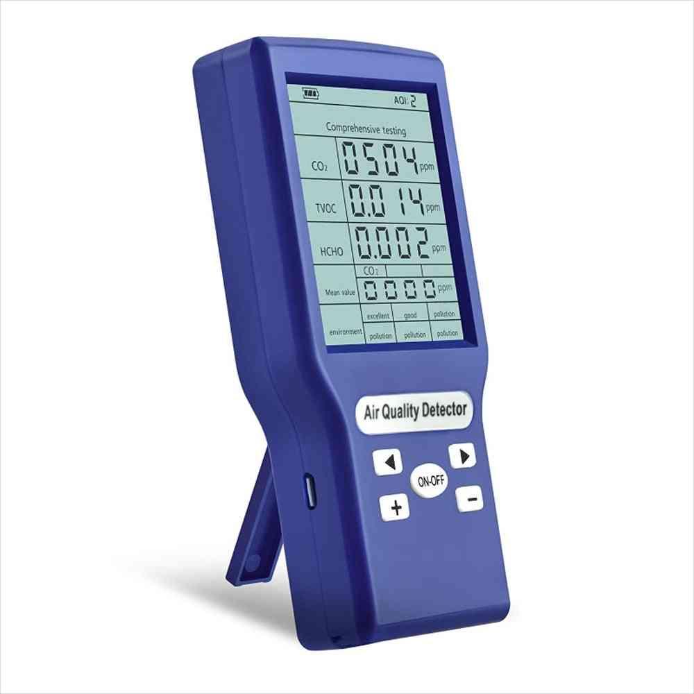 Digital Co2 Sensor- Ppm Carbon Dioxide, Gas Analyzer Monitor, Usb Detector Meter