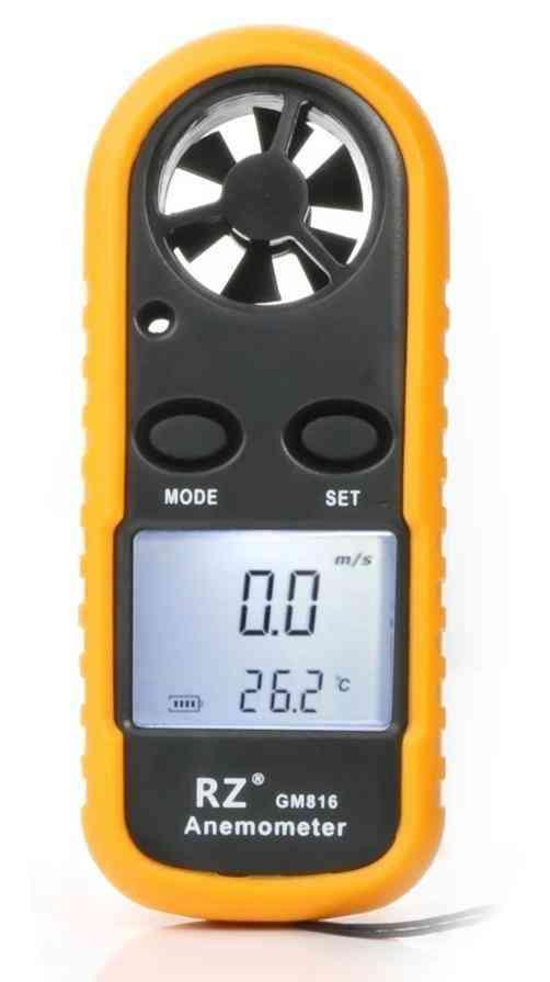 Portable Anemometro Thermometer