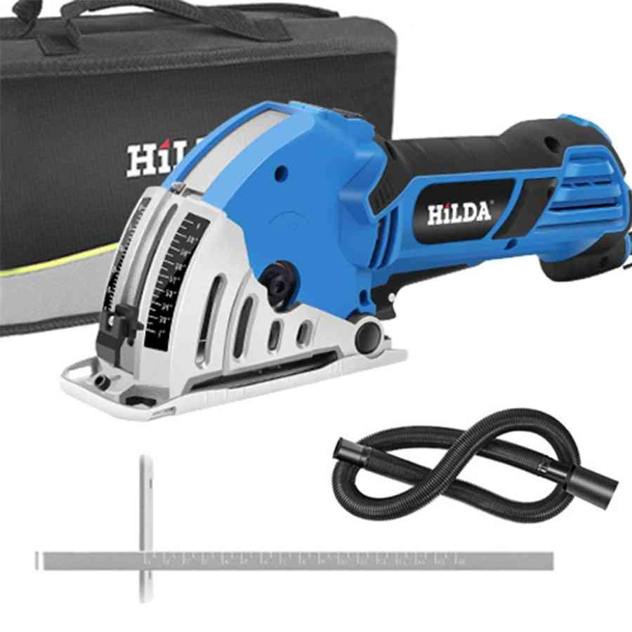 Hilda Mini Electric Circular Saw Diy Multifunctional Electric