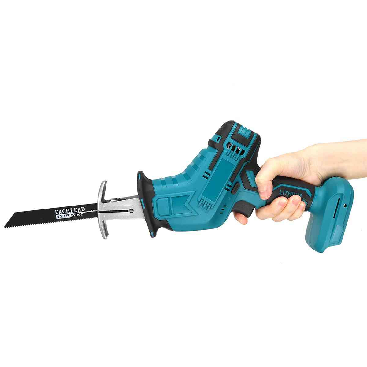 Reciprocating Saw Cordless Electric Saw For Wood Metal Plastic Cutting