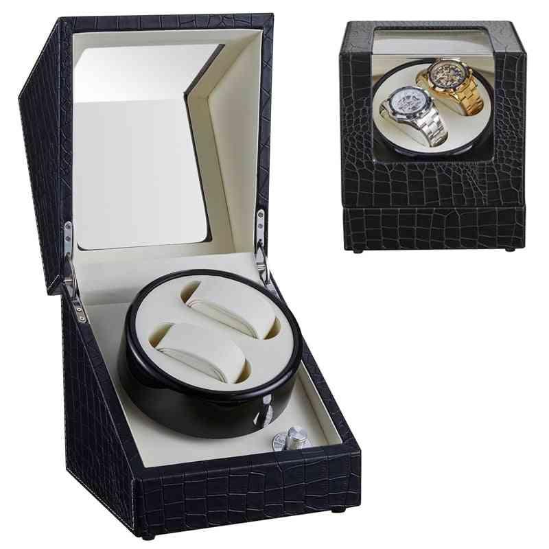 Watch Winder Winding Display Organizer Storage Box, Case Holder