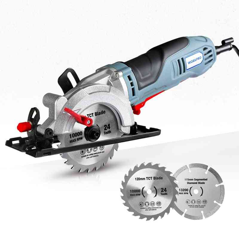 Multifunctional Electric Saw With Tct Blade And Diamond Blade Sawing Machine