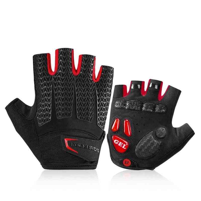 Men Summer Bicycle Gym Fitness Non-slip Sports Gloves