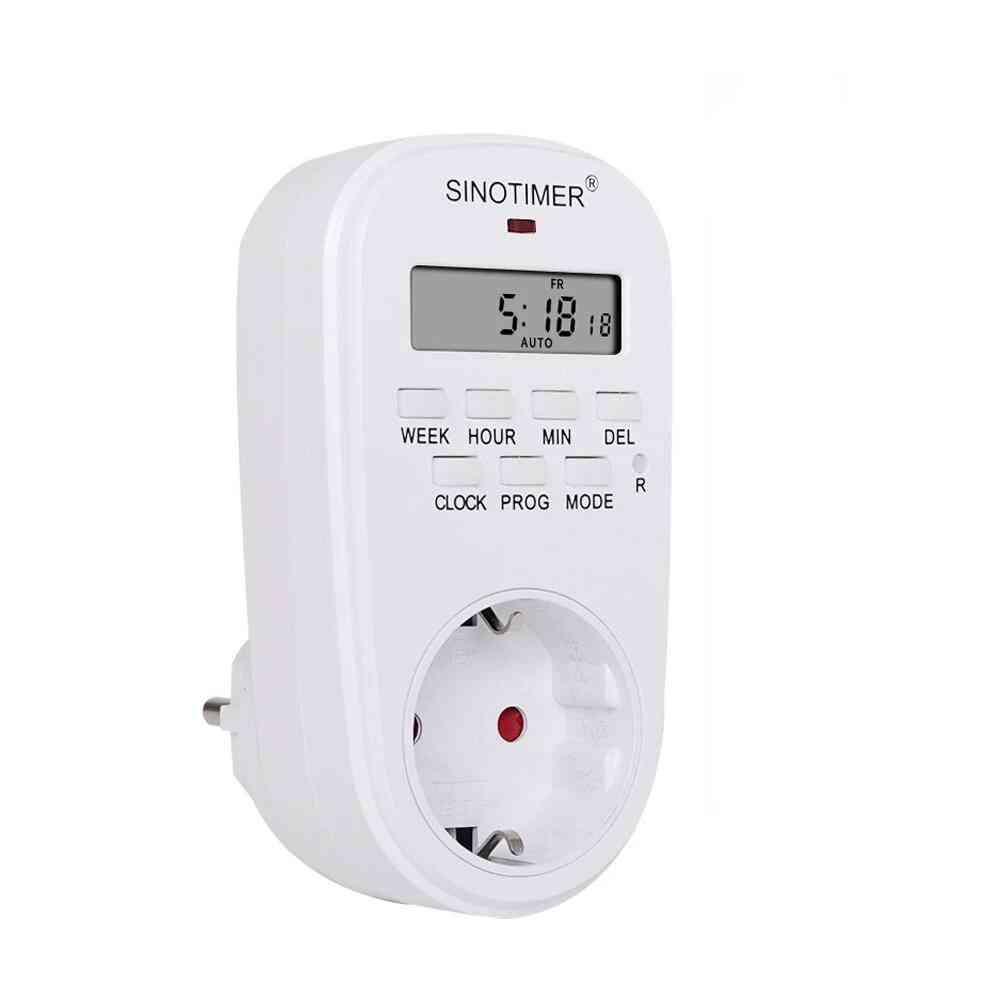 Digital Weekly Programmable Electrical Socket