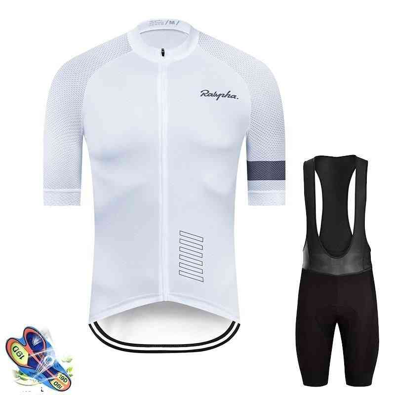 Cycling Jersey Suits- Outdoor Wear, Gel Pad Mountain, Bib Shorts Set
