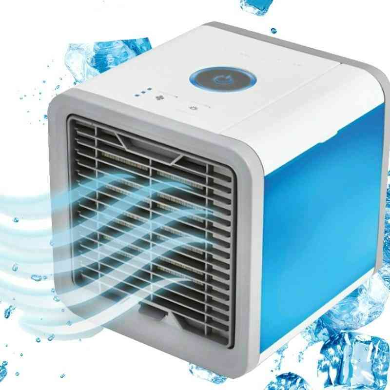 Mini Air Conditioner Usb Air Cooler Rechargeable Fan For Office Room