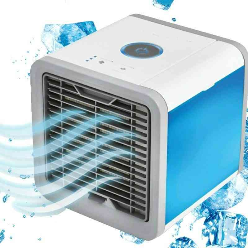 New Air Cooler & Humidifier Mini Fan Air Conditioner Device