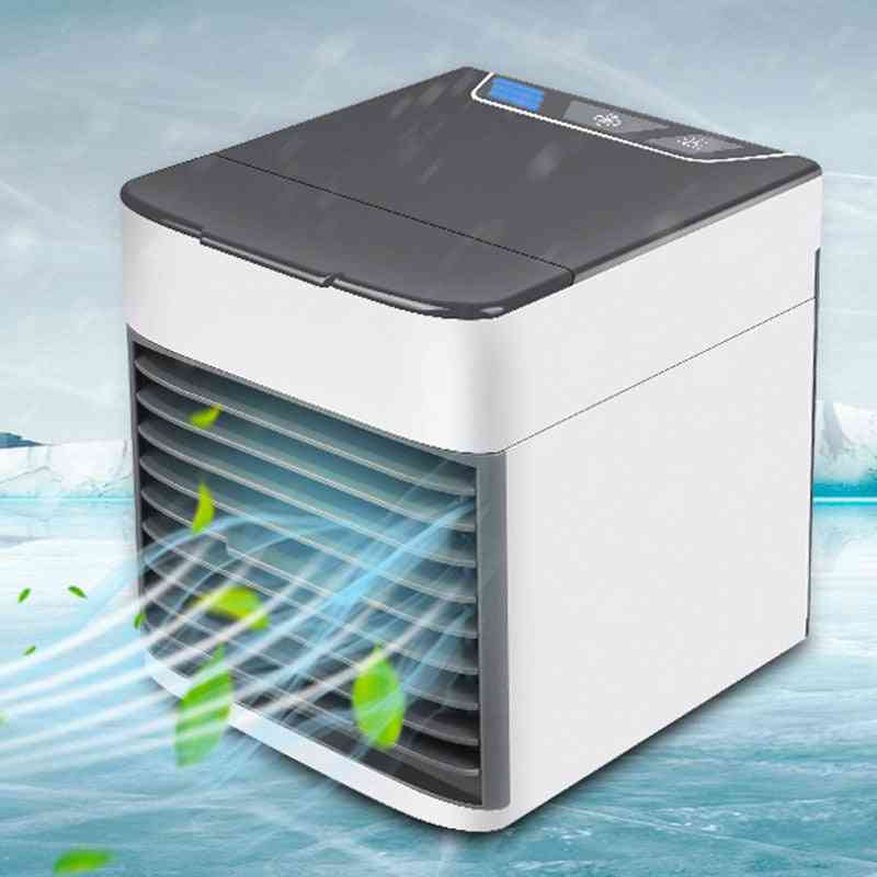 Personal Space Cooler Mini Fan Water Cooling Air Conditioner Fan Device