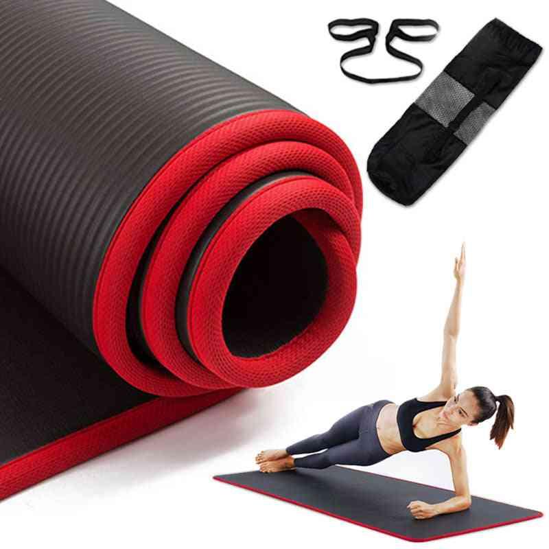 Non-slip Yoga Thickened Nbr Gym Mat