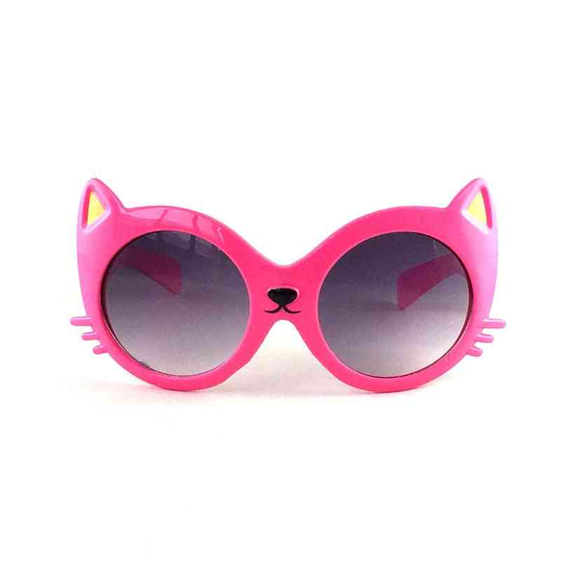 Cat Shape Cartoon Sunglasses