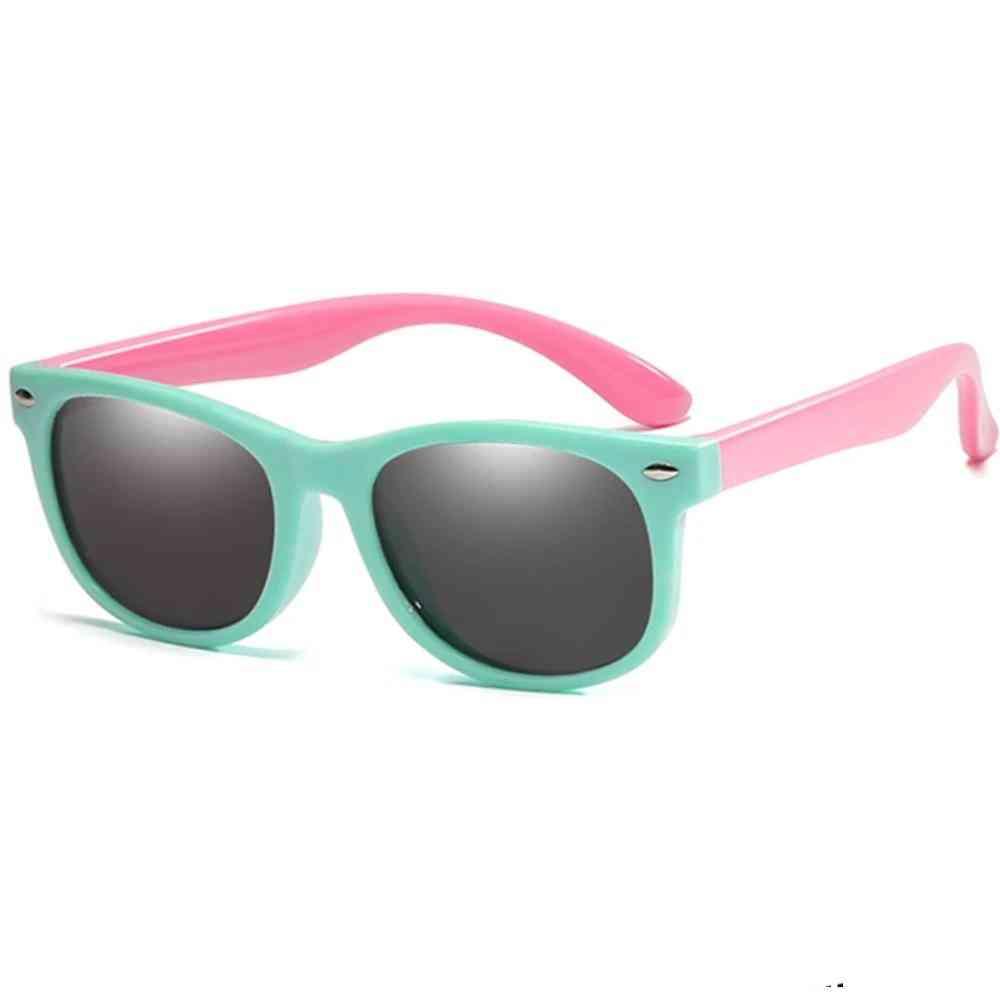 Fashion Polarized Tr90 Silicone Safety Glasses