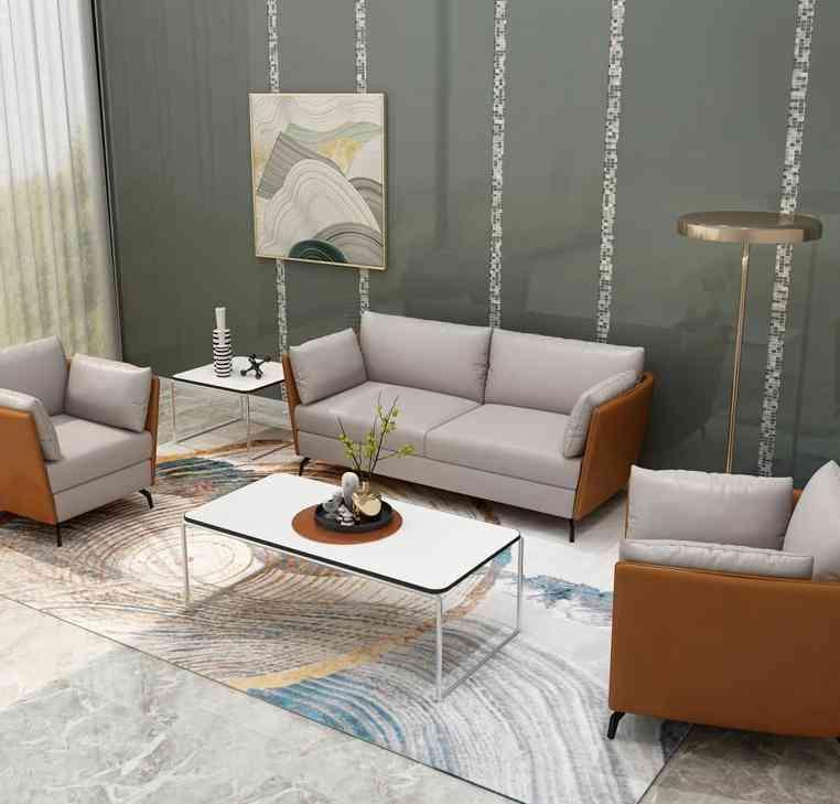 Orange Modern Office Home Hotel Design