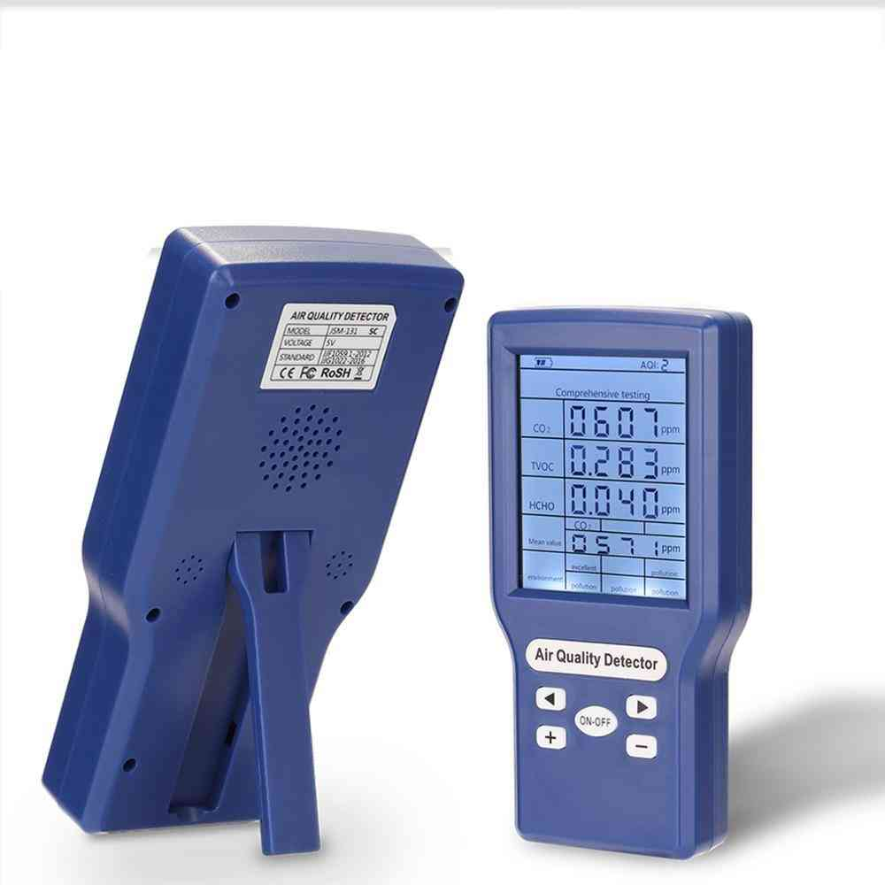 Digital Co2- Tester Carbon Dioxide Meter For Air Quality Detector