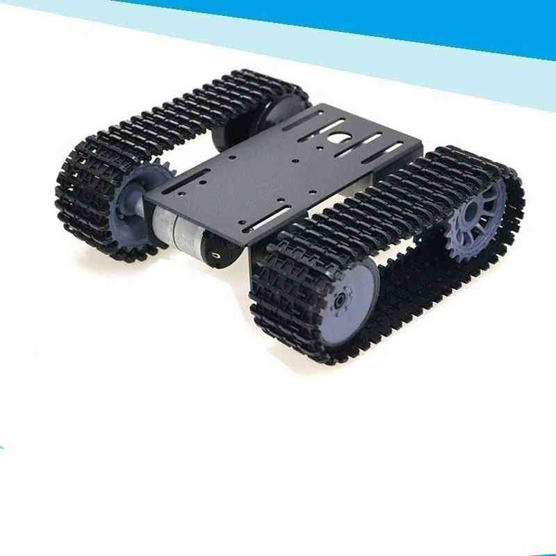 Tp101 Smart Tank Chassis, Remote Control Platform With Dual Dc Motor For Arduino