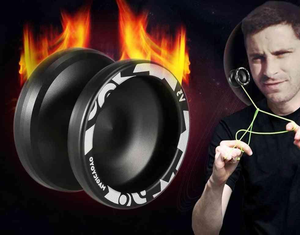 Magic Yoyo, Responsive High-speed Aluminum Alloy, Cnc Lathe With Spinning String, Narrow C Sized Bearing Professional