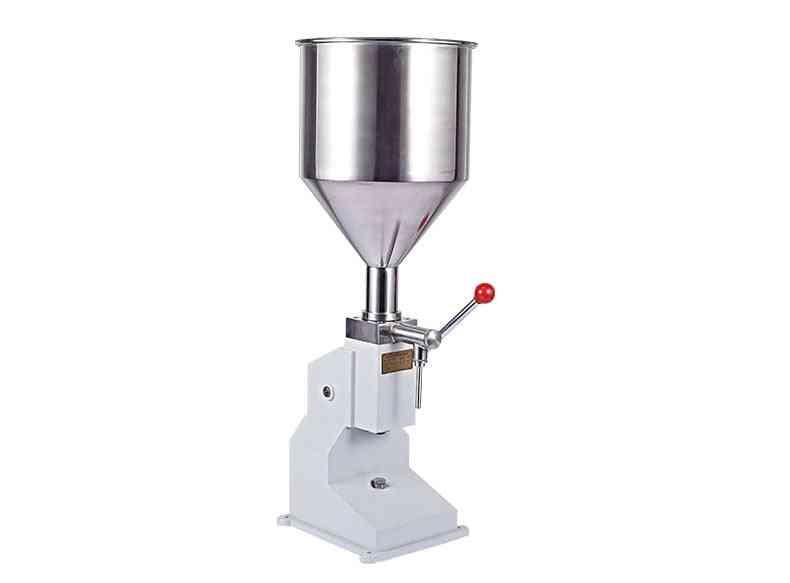 A03- Manual Nail Polish & Shampoo Filling Machine (white)