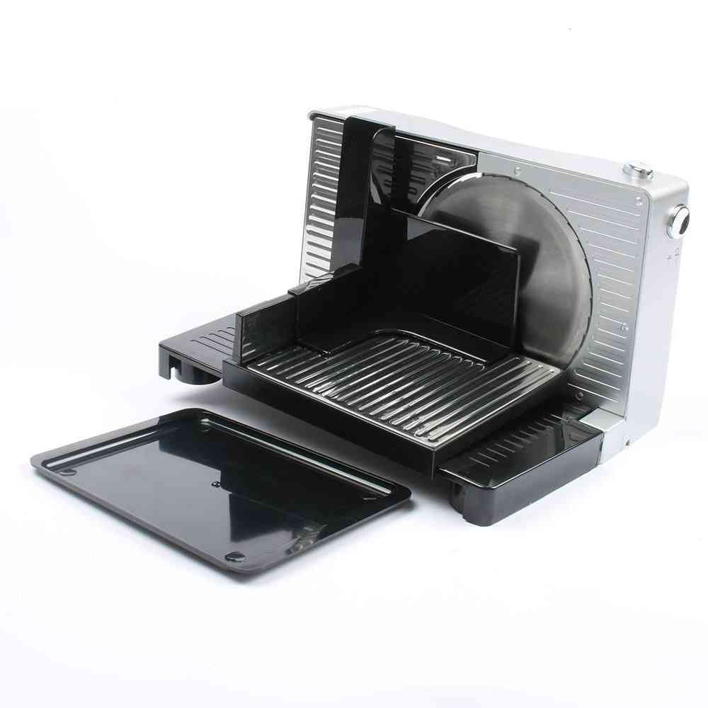 Electric Food Slicer Meat Planning Mincer Mutton Roll Beef Cutter Machine