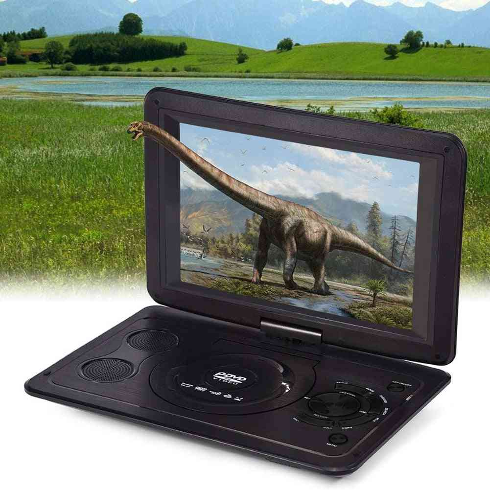 Rechargeable Battery Portable Hd Car Dvd Player