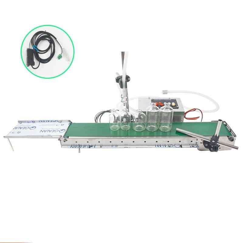 Smart Liquid Filling, Electric Conveyor Belt Machine