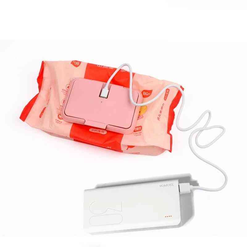 Portable Baby Wipes, Heater Thermal Warm, Wet Towel Dispenser