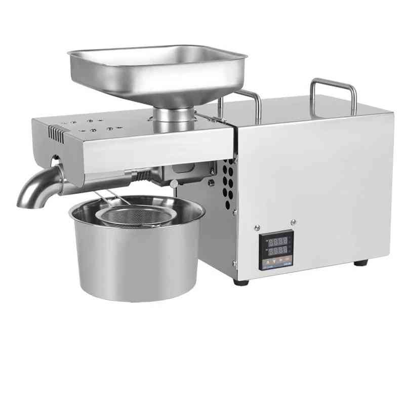 220v 1500w Temperature Controlled, Stainless Steel Oil Press Machine