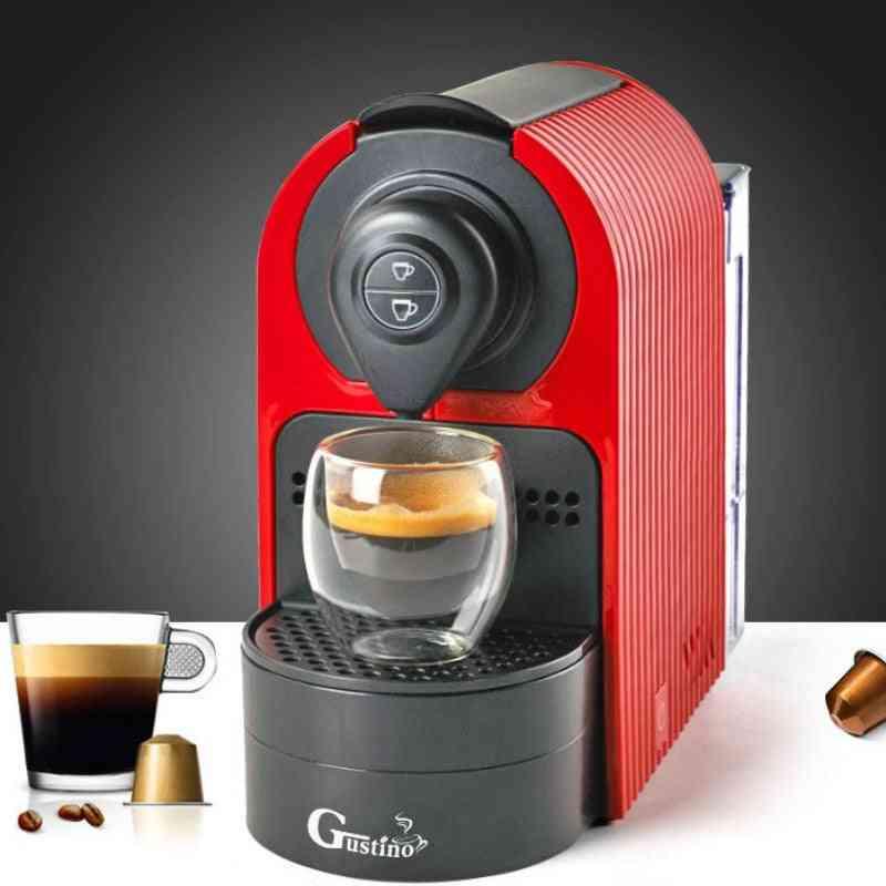 Fully Automatic Espresso, Capsule Coffee Maker - Kitchen Applicance