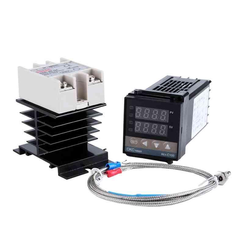 Rex-c100 Digital Rkc Pid Thermostat Temperature Controller