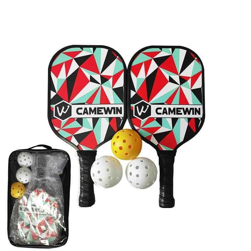 Pickleball Racket Set?3 Balls & 2 Paddles &1 Bag