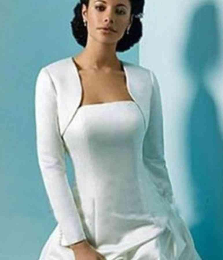 Winter Warm- Long Sleeves, Wraps Shrug Bolero, Evening Dresses Set-2
