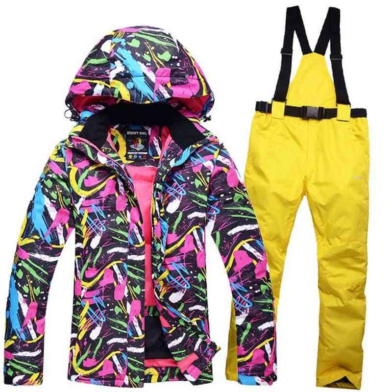 Snowboard Wear Waterproof Windproof Winter Suits