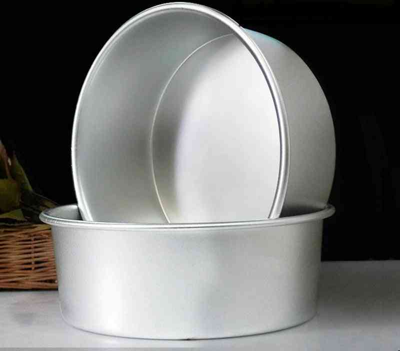 Round Aluminum Alloy Die Cake Mold Tool Baking Pan Pattern Bakeware