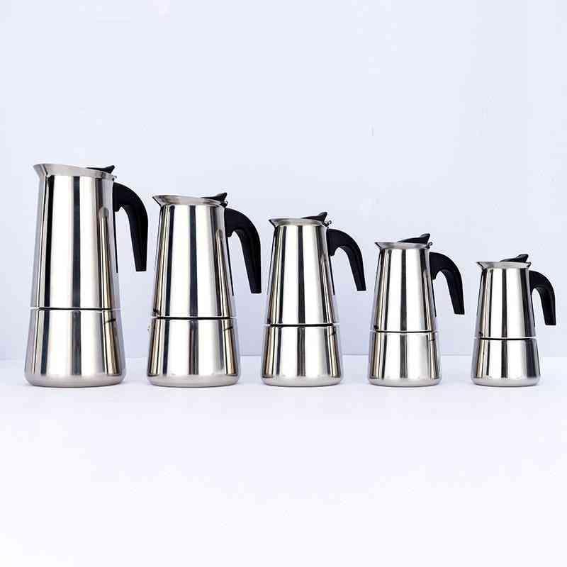 Portable Espresso Moka Coffee Maker Pot