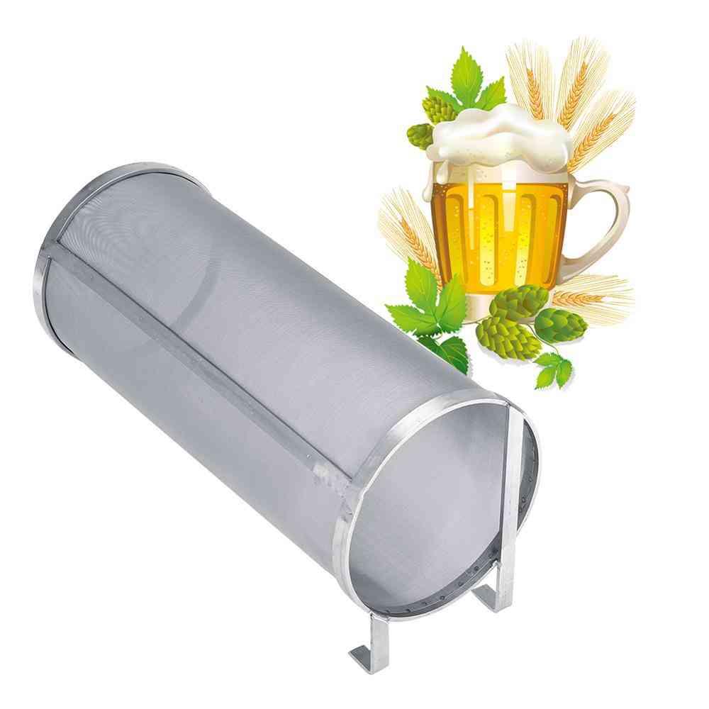 Stainless Steel Brew Beer Hop Mesh Filter With Hook
