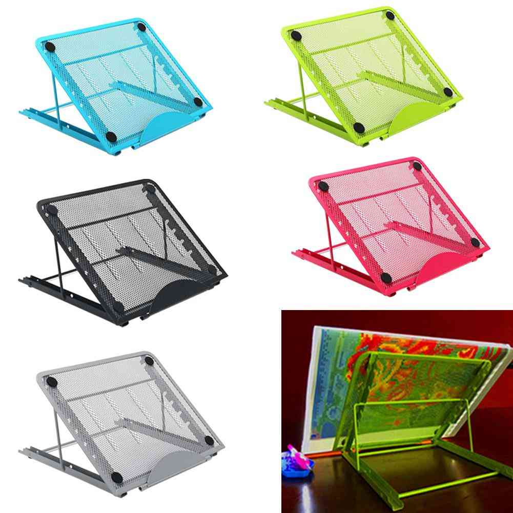 A4 Led Light Pad Box Tablet Board Metal Stand, Book Reading Rack