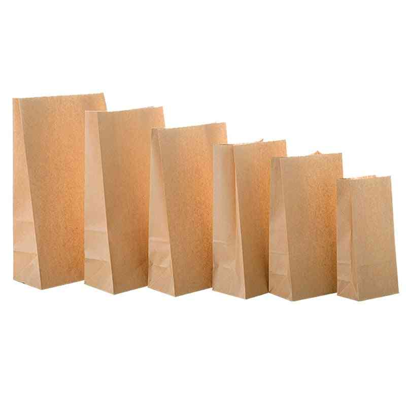 Paper Bags, Packaging Biscuit, Candy, Food, Cookie, Bread, Seen Snacks, Baking Takeaway Bag