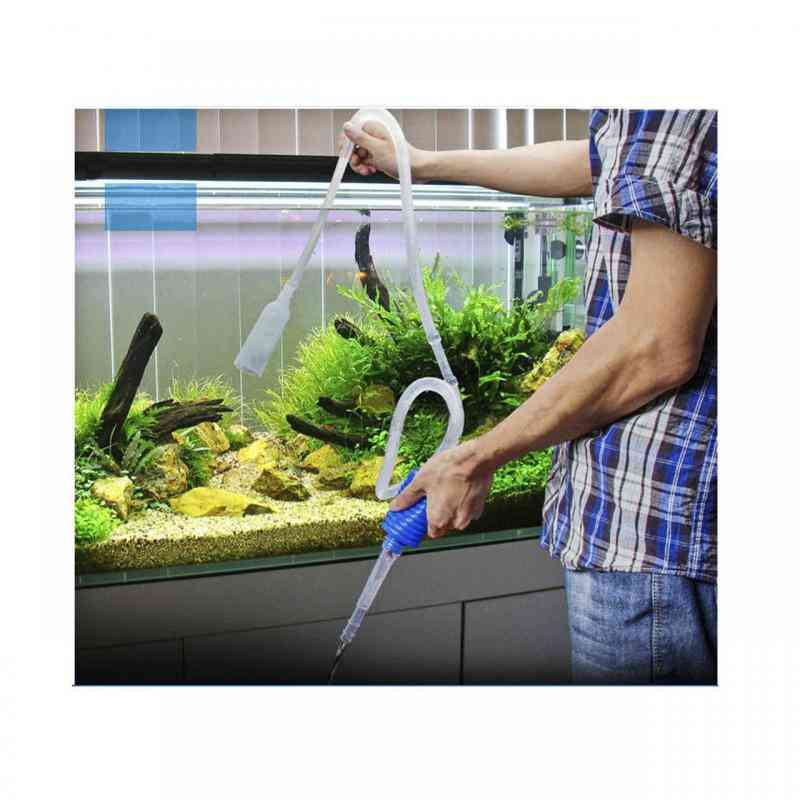 Aquarium Fish Tank Cleaner, Vacuum Siphon Pump Tool