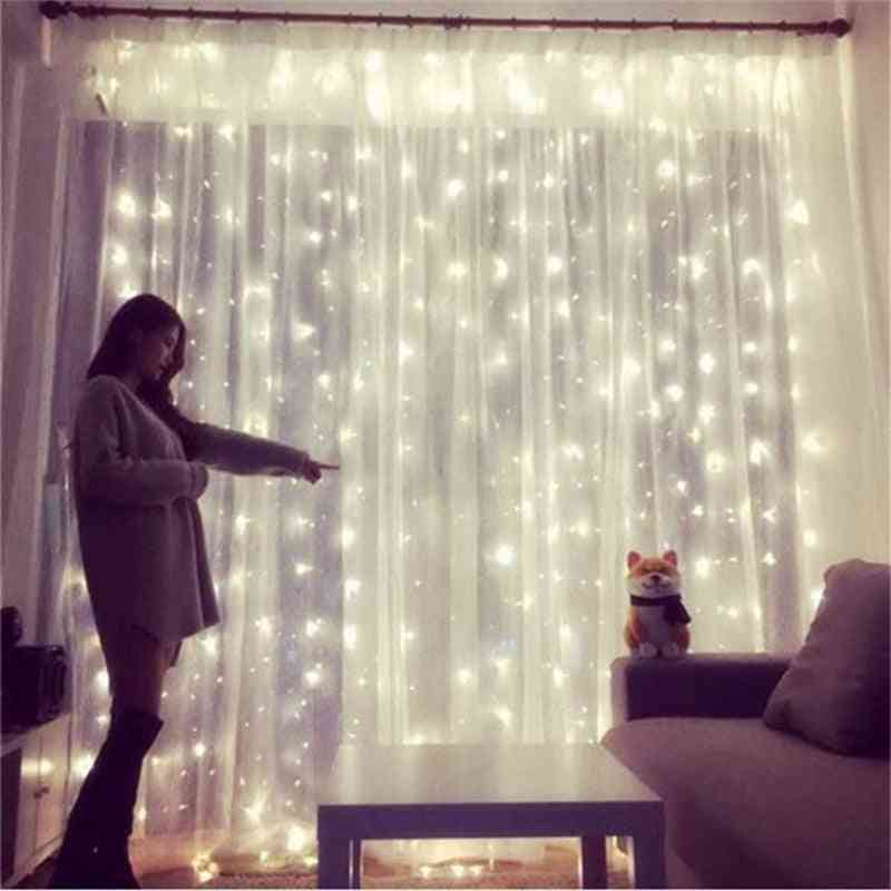 Led Copper Wire Garland Lights, Remote Control Bedroom Decoration