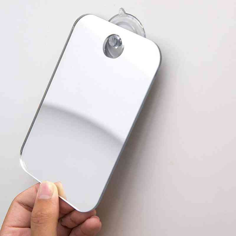 Travel Portable Unbreakable Anti Fog Shower, Shaving Bathroom Mirror