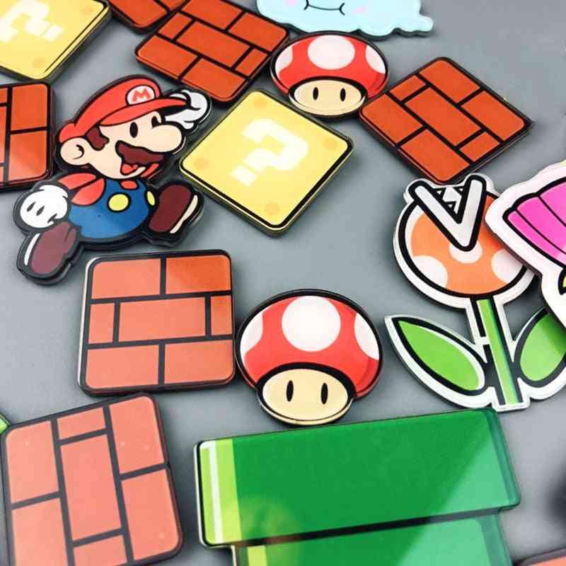 Super Fridge, Magnets Refrigerator, Gaming Cartoon, Ice Box Sticker